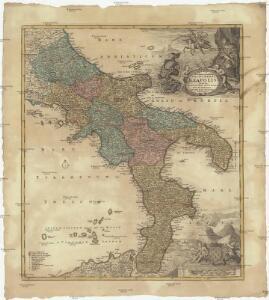 Novissima & exactissima totivs regni Neapolis tabvla praesentis belli statvi