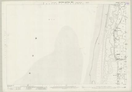 Somerset XXV.2 (includes: Berrow; Brean) - 25 Inch Map