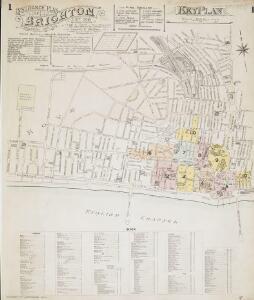 Insurance Plan of Brighton: Key Plan