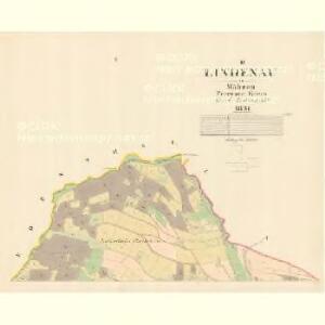 Lindenau - m1565-2-001 - Kaiserpflichtexemplar der Landkarten des stabilen Katasters