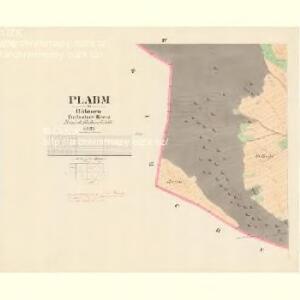 Plabm - c5820-1-004 - Kaiserpflichtexemplar der Landkarten des stabilen Katasters