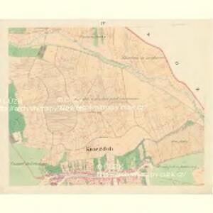 Kniezdub - m1209-1-003 - Kaiserpflichtexemplar der Landkarten des stabilen Katasters