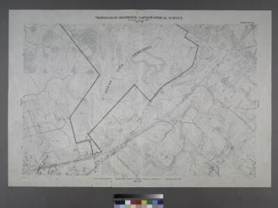 Sheet No. 70. [Includes Great Kills (Giffords), Southside Boulevard, Emmet Avenue, Washington Avenue, Lincoln Avenue,; Borough of Richmond, Topographical Survey.