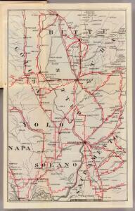 Colusa, Yolo, Napa, Butte, Yuba, Sutter, Solano, and Sacramento Counties.