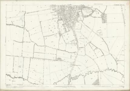 Oxfordshire XVI.1 (includes: Deddington; Duns Tew; North Aston) - 25 Inch Map