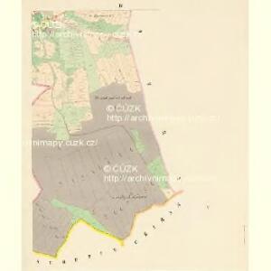 Kozaurow (Kocaurow) - c3237-1-004 - Kaiserpflichtexemplar der Landkarten des stabilen Katasters