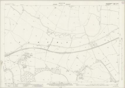 Buckinghamshire XXXVI.1 (includes: Great Haseley; Shabbington; Tiddington with Albury) - 25 Inch Map