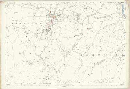 Yorkshire CXXXIV.14 (includes: Burnsall; Hebden; Thorpe) - 25 Inch Map