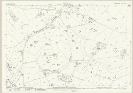 Staffordshire XXXVI.3 (includes: Eccleshall; Ellenhall; Gnosall) - 25 Inch Map