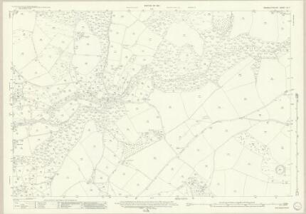 Monmouthshire XX.7 (includes: Tintern; Trelech United) - 25 Inch Map
