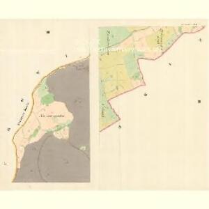 Hostialkow - m0861-1-002 - Kaiserpflichtexemplar der Landkarten des stabilen Katasters