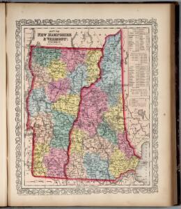New Hampshire & Vermont.