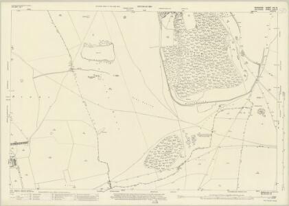 Berkshire XIX.13 (includes: Ashbury; Baydon; Bishopstone; Lambourn) - 25 Inch Map