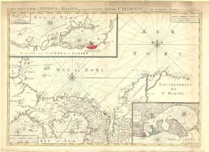 Carte particuliere de Isthmus, ou Darien, qui comprend le Golfe de Panama &c., Cartagene et les isles aux environs