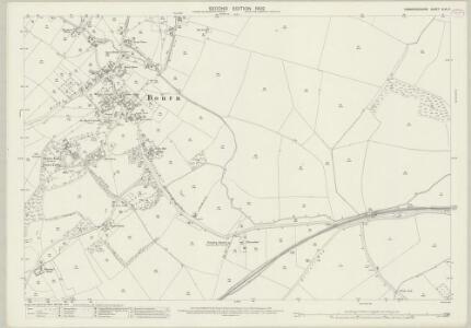Cambridgeshire XLVI.5 (includes: Bourn; Caldecote; Kingston) - 25 Inch Map