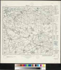 Meßtischblatt 2435 : Rhynern, 1934