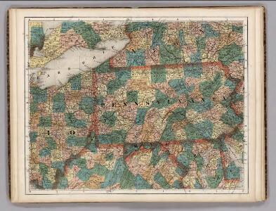 Ohio, Pennsylvania, New York, Maryland.