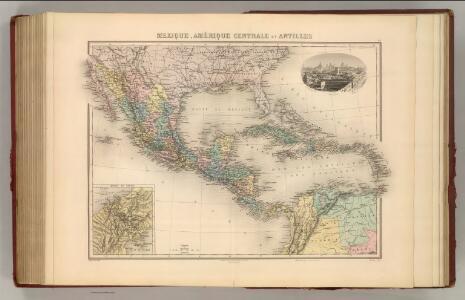 Mexique, Amerique Centrale et Antilles.