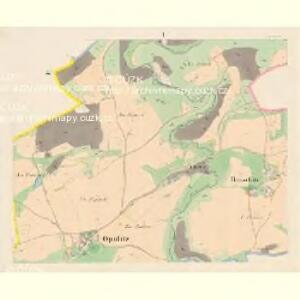 Opalitz - c5478-1-001 - Kaiserpflichtexemplar der Landkarten des stabilen Katasters