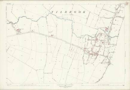 Bedfordshire II.13 (includes: Covington; Dean and Shelton; Kimbolton; Tilbrook) - 25 Inch Map