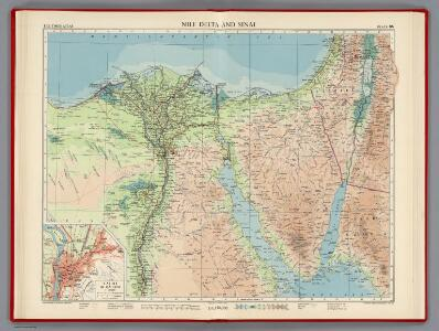 Nile Delta and Sinai, Plate 86, V. IV