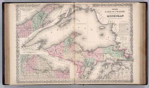 Lake Superior and Upper Peninsula of Michigan.