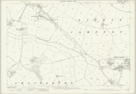 Oxfordshire XIII.4 (includes: Barton on the Heath; Chastleton; Little Compton) - 25 Inch Map