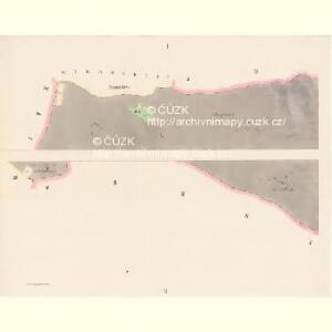 Mecholub (Měcholuby) - c4582-1-001 - Kaiserpflichtexemplar der Landkarten des stabilen Katasters