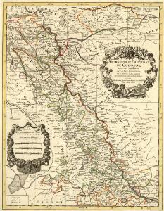 Archevesché et Eslectorat de Cologne avec ses Enclaves dans les Pays Circomvoisins Tiré des Memoires les plus nouveaux