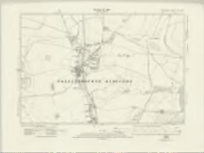 Wiltshire XLII.SE - OS Six-Inch Map