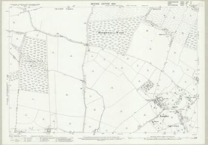 Cambridgeshire LXIIB.9 (includes: Chrishall; Langley; Little Chishill; Nuthampstead; Wendon Lofts) - 25 Inch Map