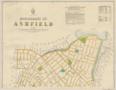 Ashfield, 1st ed. 25.8.40, sheet 1(2) (col)
