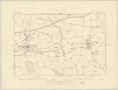 Gloucestershire XXVII.NE - OS Six-Inch Map