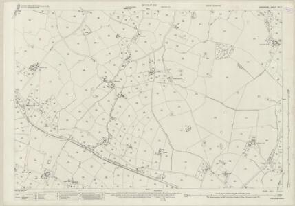 Shropshire XIV.7 (includes: Wem Rural; Whixall) - 25 Inch Map