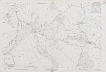 Wiltshire LXIX.5 (includes: Donhead St Andrew; Donhead St Mary; Semley) - 25 Inch Map