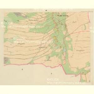 Waldetschlag und Hardetschlag - c1787-1-003 - Kaiserpflichtexemplar der Landkarten des stabilen Katasters