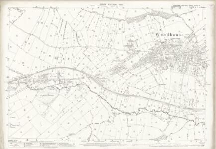 Yorkshire CCXCV.14 (includes: Beighton; Sheffield) - 25 Inch Map
