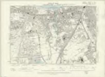 London X.SE - OS Six-Inch Map