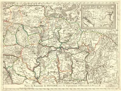 Partie du Royaume de Hongrie, vers le Septentrion, et l'Orient