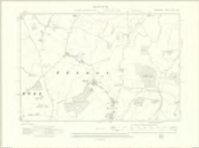 Berkshire XXVII.NW - OS Six-Inch Map