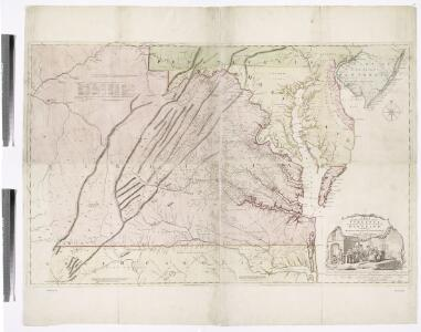 A map of the most inhabited part of Virginia containing the whole province of Maryland with part of Pensilvania, New Jersey and North Carolina / drawn by Joshua Fry & Peter Jefferson in 1751.