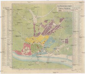 Sz. K. Pozsony város térképe