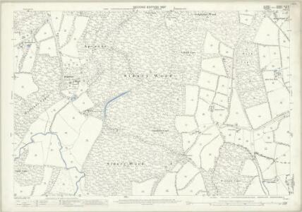 Surrey XLVI.5 (includes: Alfold; Dunsfold; Loxwood) - 25 Inch Map