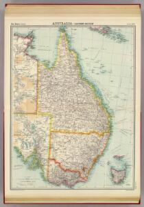 Australia - eastern section.
