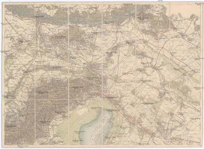 Umgebungs-Karte von Bruck an der Leitha