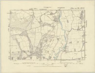 Dorset XVI.NE - OS Six-Inch Map