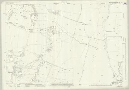 Gloucestershire V.14 (includes: Bredon; Bredons Norton; Strensham; Twyning) - 25 Inch Map