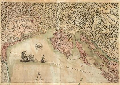 Golfo di Venetia Overo Mare Adriatico