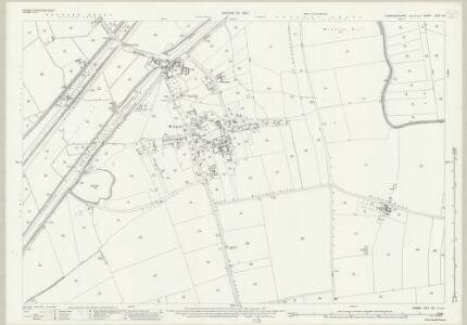 Cambridgeshire XXV.10 (includes: Mepal; Sutton; Witcham) - 25 Inch Map