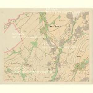 Klein Aurzim (Maly Auřim) - c4462-1-005 - Kaiserpflichtexemplar der Landkarten des stabilen Katasters